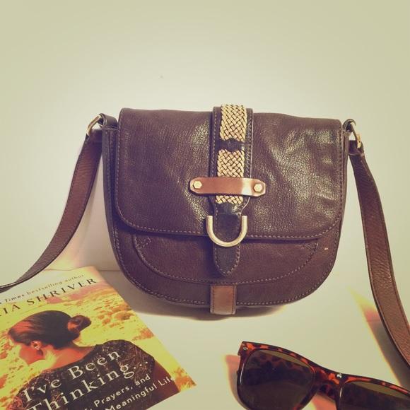 9b5111df02 Cole Haan Bags | Camden Marissa Crossbody Brown Flap Bag | Poshmark